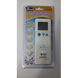 daikin aircon remote brand in one