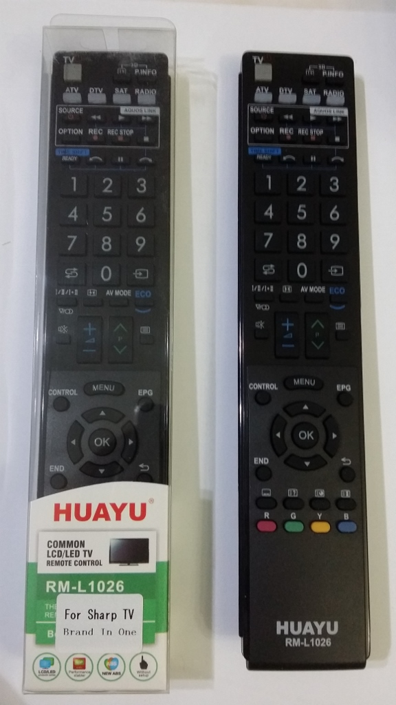 sharp remote controller