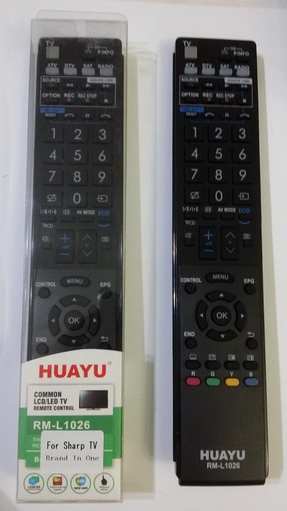 sharp remote controller
