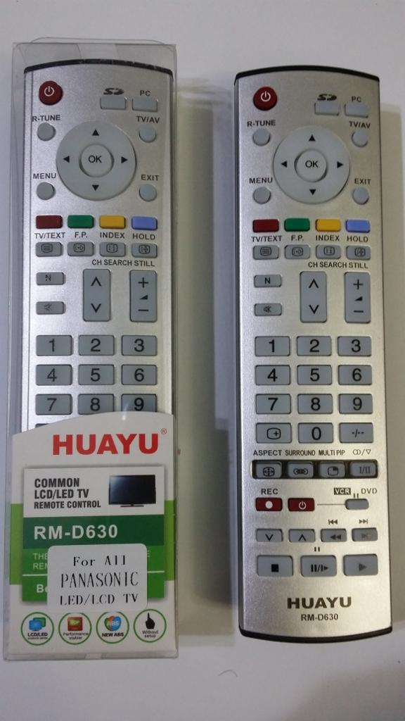 Panasonic TV remote replacement