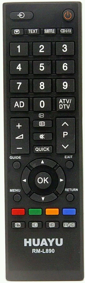 toshiba replacement remote