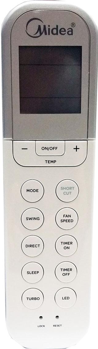 Midea RG36 series aircon remote